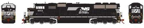 Athearn Genesis HO G75512 G2 SD60M Tri-Clops Diesel Locomotive, Norfolk Southern #6812