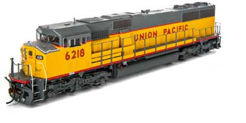 Athearn Genesis HO G75514 G2 SD60M Tri-Clops Diesel Locomotive, Union Pacific #6218
