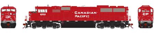 Athearn Genesis HO G75608 G2 SD60M Tri-Clops Diesel Locomotive, Canadian Pacific #6258