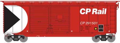 Athearn HO 16046 40' Double Door Box Car, CP Rail #291501