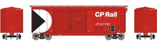 Athearn HO 16048 40' Double Door Box Car, CP Rail #291792