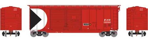 Athearn HO 16051 40' Double Door Box Car, E and N Railway #292095