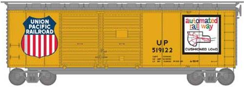Athearn HO 16065 40' Double Door Box Car, Union Pacific #519122