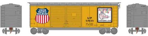 Athearn HO 16067 40' Double Door Box Car, Union Pacific #519135