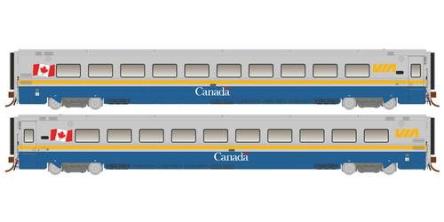 Rapido HO 108036 LRC Coach, Via Rail #3308