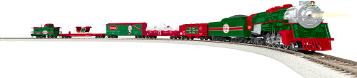 Lionel HO 1951020 North Pole Central Freight Set, Christmas