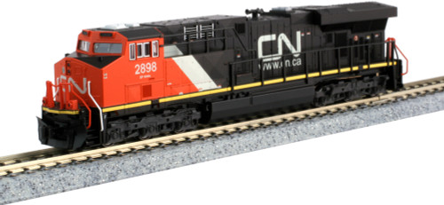 Kato N 1768938 GE ES44DC, Canadian National #2898