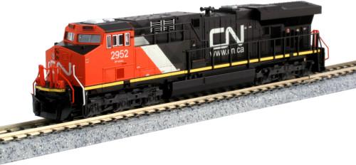 Kato N 1768939 GE ES44DC, Canadian National #2952