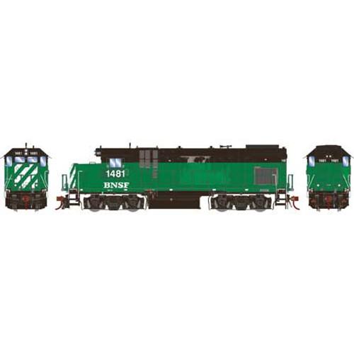 Athearn Genesis HO G13217 GP15-1, Burlington Northern Santa Fe #1481