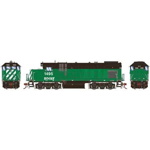 Athearn Genesis HO G13218 GP15-1, Burlington Northern Santa Fe #1495