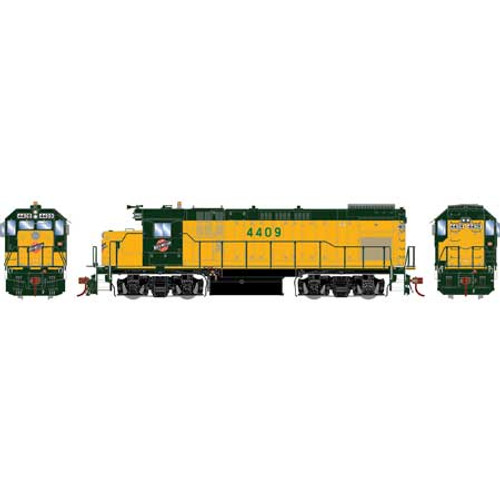 Athearn Genesis HO G13225 GP15-1, Chicago and North Western #4409