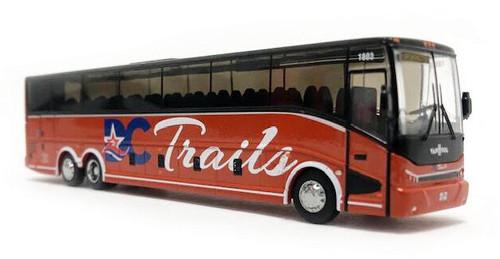 Iconic Replicas HO 87-0225 2020 Van Hool CX-45 Coach Bus, DC Trails