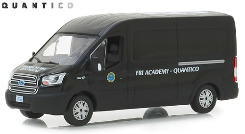 Greenlight Collectibles O 86157 2015 Ford Transit Van, FBI Academy Quantico (1:43)
