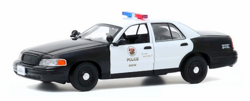 Greenlight Collectibles O 86586 2008 Ford Crown Victoria Police Interceptor, LAPD (1:43)