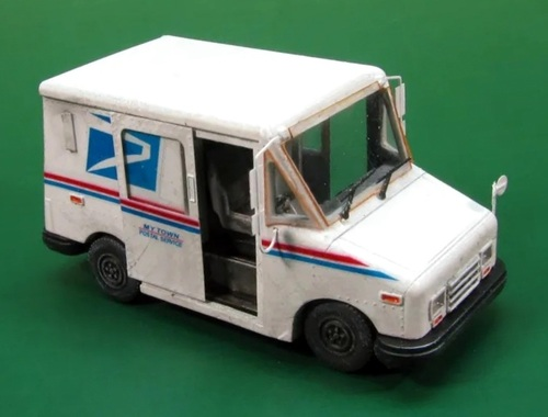 Showcase Miniatures HO 3004 Grumman LLV Delivery Truck Kit