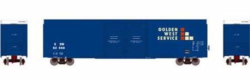 Athearn HO 90519 FMC 60' Double Door Hi-Cube Box Car, Cotton Belt (GWS) #62675