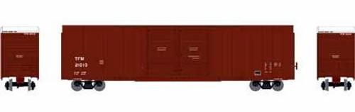 Athearn HO 90530 FMC 60' Double Door Hi-Cube Box Car, TFM #21010
