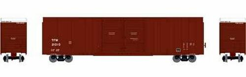 Athearn HO 90531 FMC 60' Double Door Hi-Cube Box Car, TFM #21027