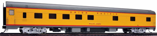 """Walthers Proto HO 920-14103 85' Budd 10-6 Sleeper Car with Lights, Union Pacific """"Willie James"""" #202"""