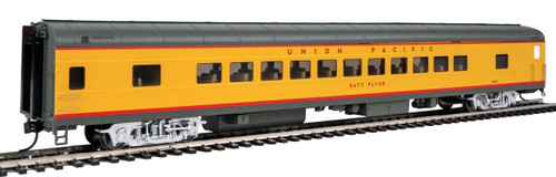 """Walthers Proto HO 920-18503 85' ACF 44-Seat Coach with Lights, Union Pacific """"Katy Flyer"""" #5468"""