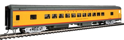 """Walthers Proto HO 920-18505 85' ACF 44-Seat Coach with Lights, Union Pacific """"Sunshine Special"""" #5480"""