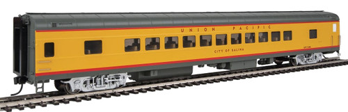 """Walthers Proto HO 920-18506 85' ACF 44-Seat Coach with Lights, Union Pacific """"City of Salina"""" #5486"""
