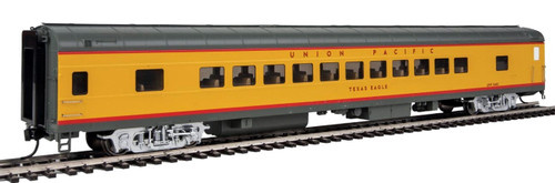 """Walthers Proto HO 920-18507 85' ACF 44-Seat Coach with Lights, Union Pacific """"Texas Eagle#5483"""