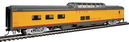 """Walthers Proto HO 920-18654 85' ACF Dome-Diner Car with Lights, Union Pacific """"Colorado Eagle"""" #8004"""