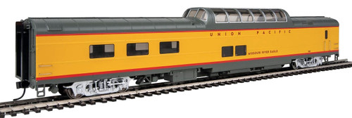 """Walthers Proto HO 920-18655 85' ACF Dome-Diner Car with Lights, Union Pacific """"Missouri River Eagle"""" #7011"""