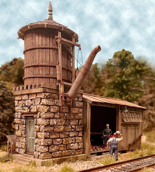 Bar Mills Scale Model Works HO 0282 Water Tower at Cranberry Yard Kit