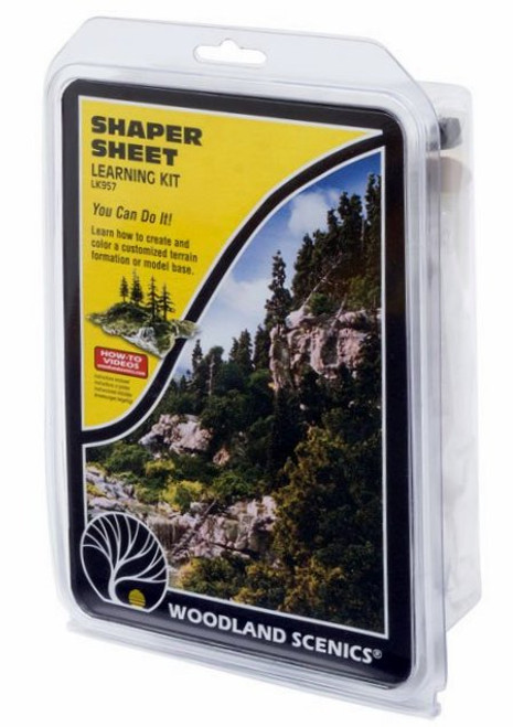 Woodland Scenics LK957 Shaper Sheet Learning Kit
