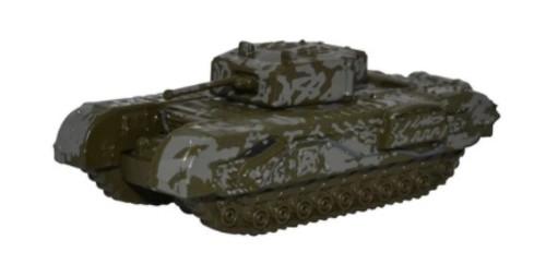 """Oxford Diecast N NCHT003 1943 Churchill Tank 142, Royal Armoured Corps """"Tunisia"""""""
