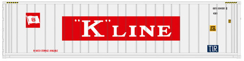 Atlas N 50005353 40' Refrigerated Containers, K-Line #1 (3)