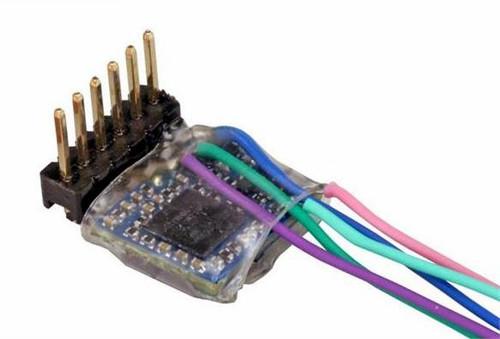 ESU N 59857 LokPilot 5 Micro DCC Decoder, 6-Pin Direct 90 Degrees