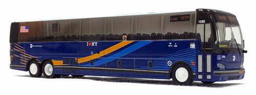 Iconic Replicas HO 87-0224 Prevost X3-45 Coach Bus, MTA New York City