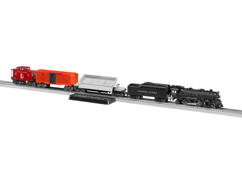 Lionel O 2023120 LionChief Steam Freight Set with 4-4-2 Locomotive, Lionel Lines