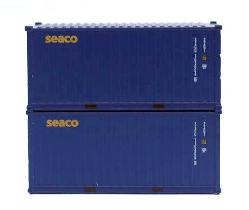 Jacksonville Terminal Company N 205336 20' Standard Height Containers, SEACO (2)