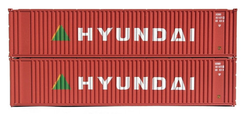 Jacksonville Terminal Company N 405557 40' Standard Height Containers, Hyundai (2)