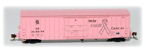 "Eastern Seaboard Models N 901100 Class X58 Box Car, Conrail ""Fight Cancer"""