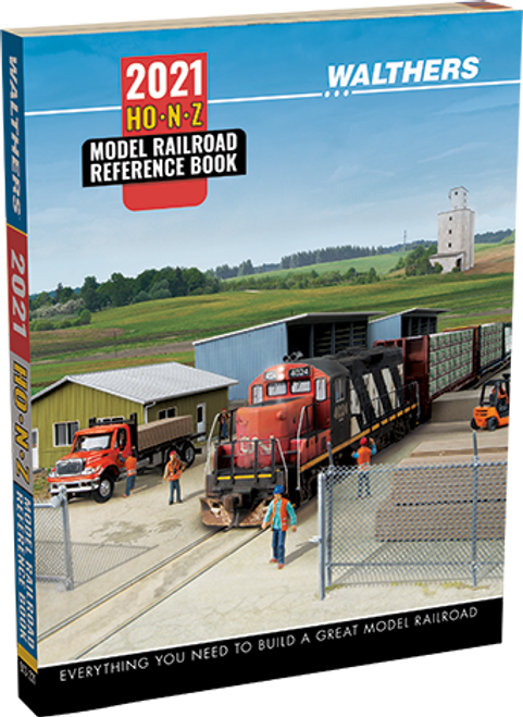 Walthers 913-221 2021 HO, N and Z Reference Book