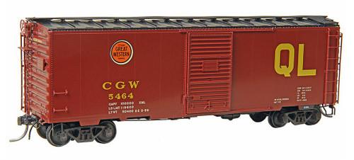 Kadee HO #4132 40' PS-1 Box Car, Chicago Great Western #5464