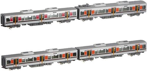 Kato N 101602 323 Series Osaka Loop Line Add-On 4-Car Set, Japan National Railways