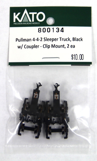 Kato N 800134 Pullman 4-4-2 Sleeper Trucks with Coupler (2)