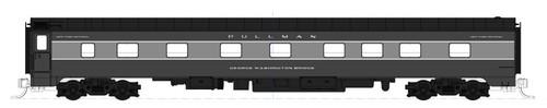 "Kato N XNYC20-442-GWB 20th Century 4-4-2 Sleeper Car Kit, New York Central ""George Washington Bridge"""