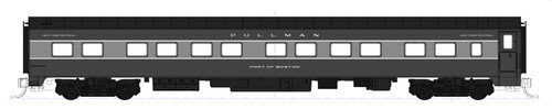 "Kato N XNYC20-12DB-PORT 20th Century 12-Bedroom Sleeper Car Kit, New York Central ""Port of Buffalo"""