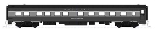 "Kato N XNYC20-106-CHICAGO 20th Century 10-6 Sleeper Car Kit, New York Central ""Chicago River"""