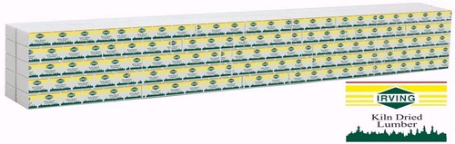 Walthers SceneMaster HO 949-3163 Wrapped Lumber Load, Irving Lumber
