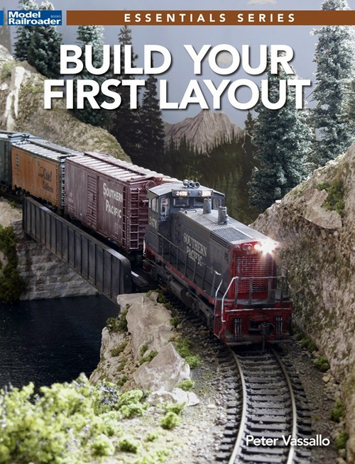 Kalmbach Publishing Softcover Book 12829 Build Your First Layout