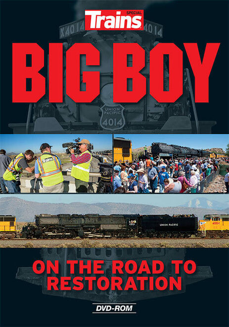 Kalmbach Publishing DVD 15109 Big Boy: On the Road to Restoration
