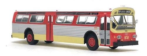 Iconic Replicas HO 87-0262 1979 Flxible 53102 Transit Bus, Muni San Francisco